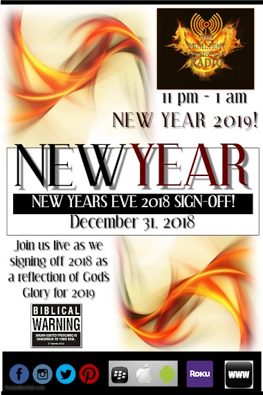 New Year's Eve 2018 Sign-Off