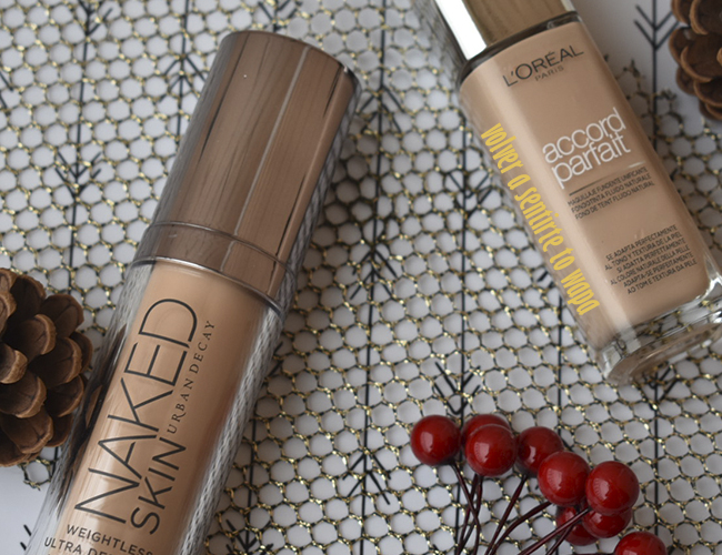 Favoritos de Maquillaje: Base Naked Skin de Urban Decay y Accord Parfait de L'oreal