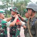 Kasiops Korem 031/WB Buka secara resmi Diklatsar Menwa Indra Pahlawan Riau