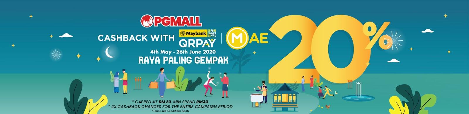 pg mall maybank qrpay cashback