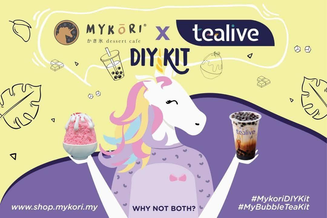Mykori X Tealive DIY Kit poster