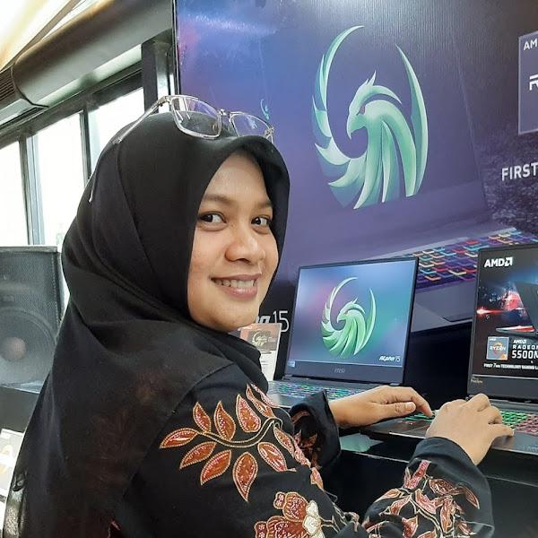 MSI Alpha 15 Laptop Gaming Pertama Dengan Teknologi 7nm