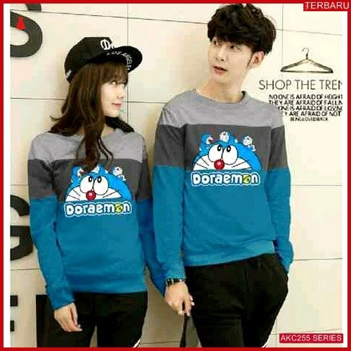 AKC255S54 Sweater Couple Doraemon Anak 255S54 Pasangan Combi BMGShop
