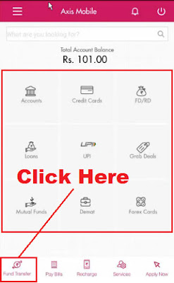 axis bank mobile banking online registration