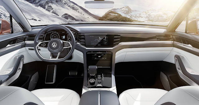 Volkswagen Atlas Cross Sport - interior