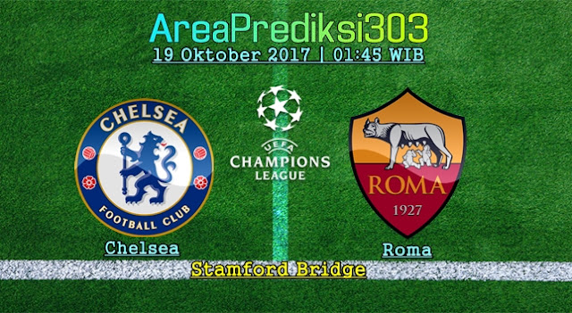 Prediksi Jitu Chelsea vs Roma 19 Oktober 2017
