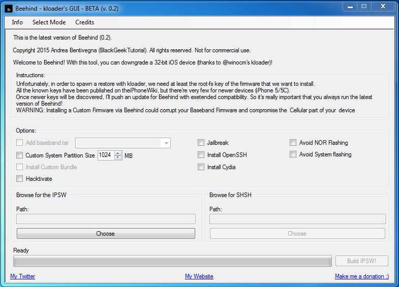 [Image: beehind-downgrade-tool.png]