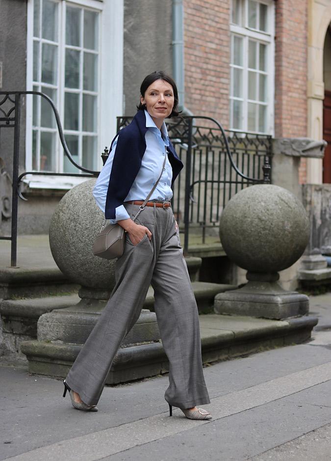 Męski styl w wydaniu kobiecym minimalissmo
