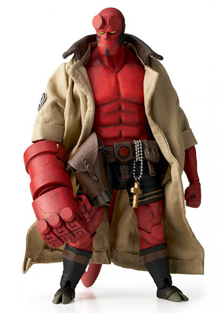 Картинки по запросу Hellboy Figures - 1/12 Scale Hellboy Regular Version