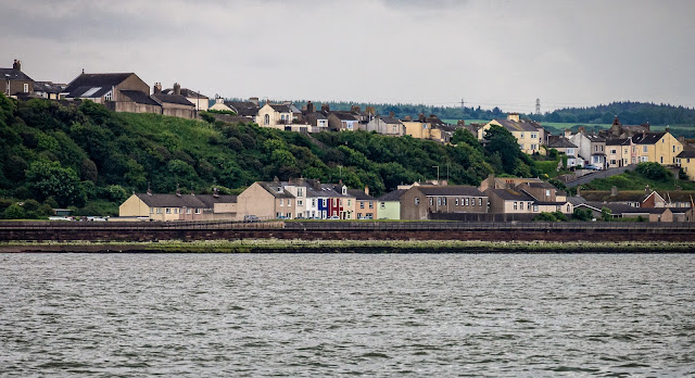 Photo of another view of Maryport from the Solway Firth