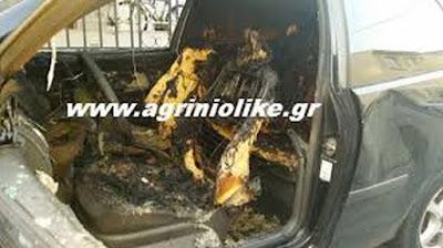 Αυτοκίνητο λαμπάδιασε στον κόμβο Κουβαρά | Νέα από το Αγρίνιο και ...