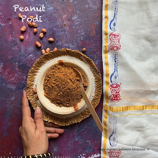 peanut podi recipe