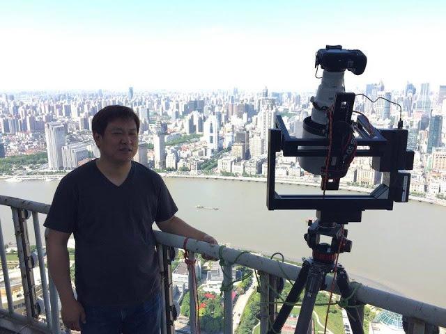 خطير ..... شاهد شركة صينية تلتقط صورة بدقة 200 مليار ميجا بيكسل لمدينة شنغهاي كلها