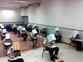 Inilah 6 Cara Pengawasan Anti Mencontek yang Dilakukan  di beberapa Negara saat Ujian yang Paling Ekstrim. Gokil Abis!