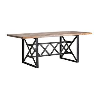 mesa rustica bodega grande