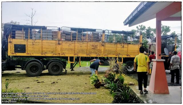 gambar lori treller FGV untuk memindahkan barang