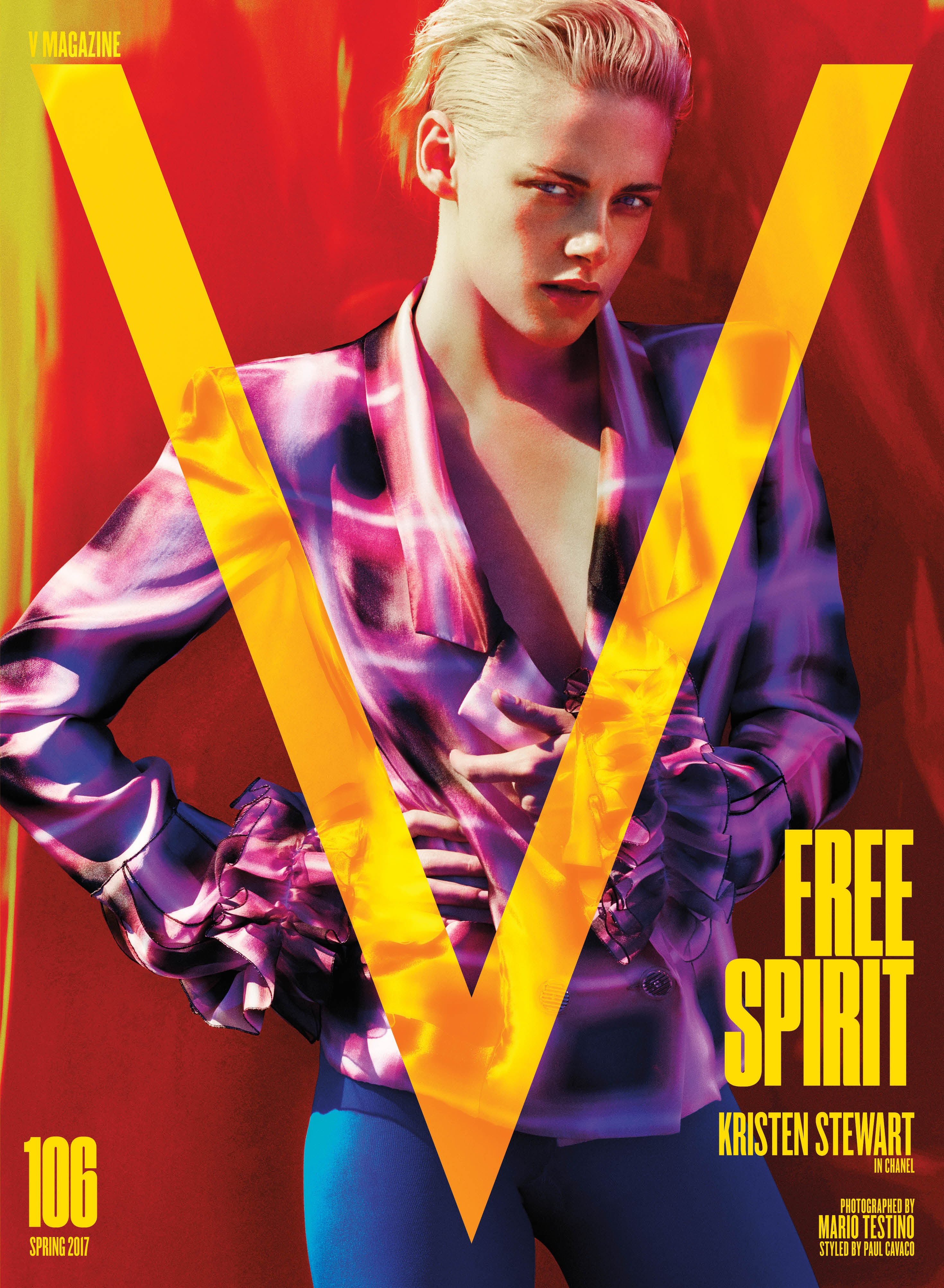 Kristen Stewart in V magazine photoshoot