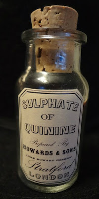 1860s Quinine medicine from Cascarilla bark
