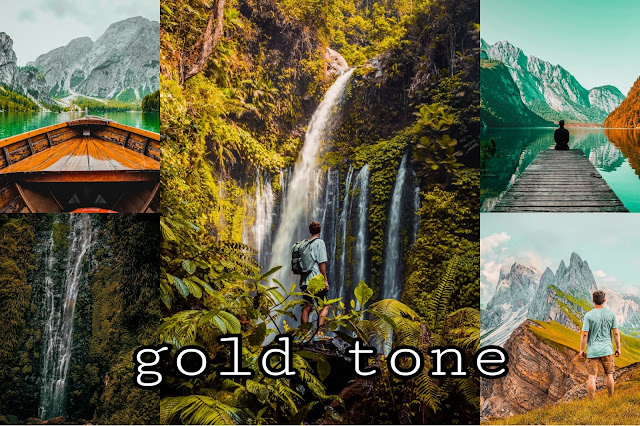 rumus golden tone lightroom cc