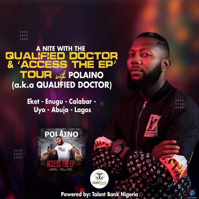 Entertainment News: POLAINO MAKES GRAND RETURN WITH 'ACCESS THE EP' SET TO TOUR EKET, UYO, CALABAR & ORS | @iampolaino
