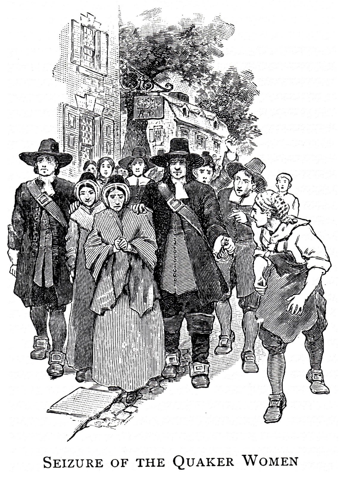 puritans and quakers Did the puritans have justification to persecute the quakers slidetalk video created by slidetalk at  , the online solution to convert po.
