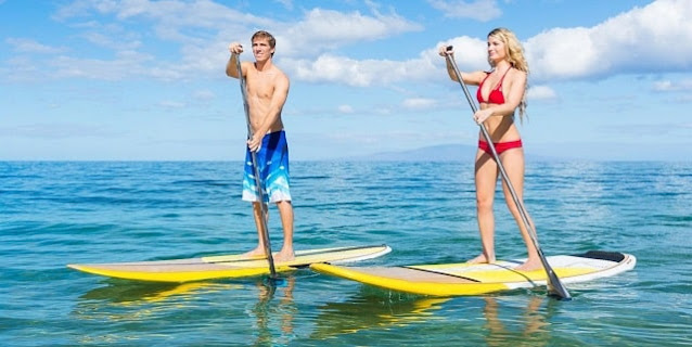 reasons try sup fitness stand up paddleboard health benefits paddleboarding
