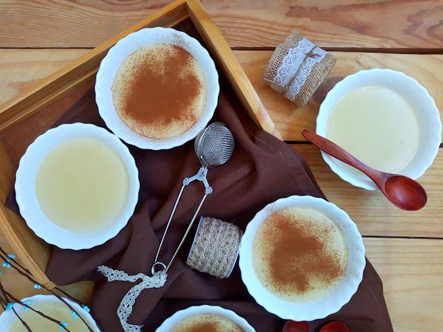 Gachas dulces o poleás (en Monsieur cuisine) Postre típico del día de Todos los Santos. Canela, limón, leche, matalaúva, anís, cremoso, sin horno, Cuca Halloween