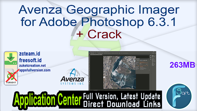 Avenza Geographic Imager for Adobe Photoshop 6.3.1 + Crack_ ZcTeam.id