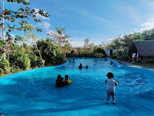 Kolam Renang Desa Wisata Ekang