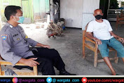 Sambangi Warga, Bhabinkamtibmas Polsek Segeri Sampaikan Himbauan Prokes