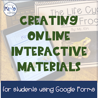 Using Google Forms to Create Online Material for Remote Learning