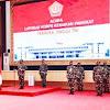 Panglima TNI Terima Laporan Kenaikan Pangkat 22 Pati TNI