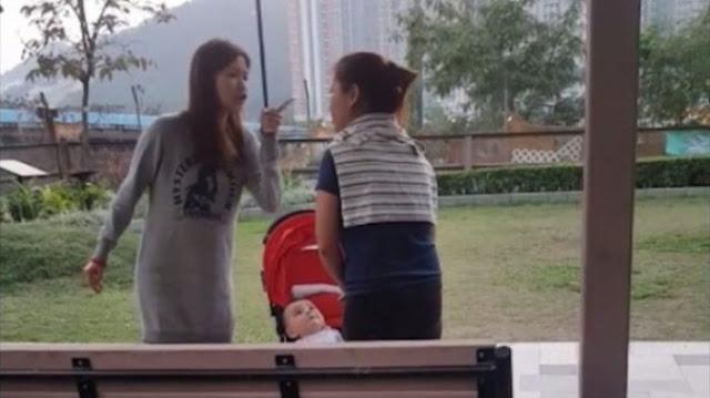 Viral ART Dibentak-bentak karena Bawa Bayi dan Anjing ke Taman, Videonya Buat Netizen Geram
