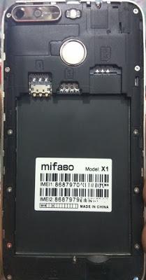 MIFASO X1 FLASH FILE FIRMWARE