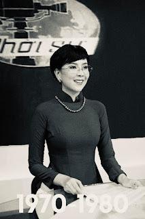 Mai Ngọc tái hiện hình ảnh MC thời sự 50 năm trước