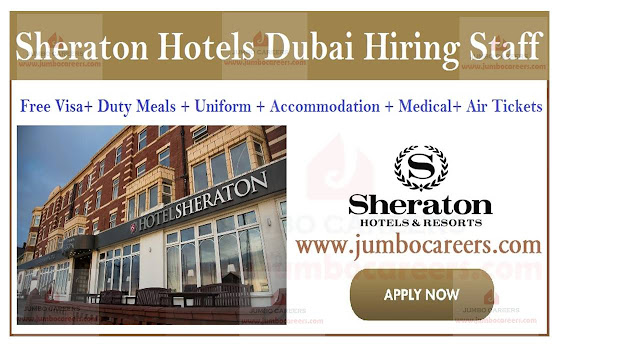 Job openings in Dubai, Hotel job opportunities in UAE,