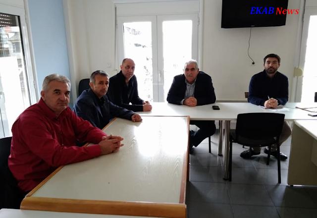 Συνάντηση του Σωματείου ΕΚΑΒ Θεσσαλίας με αντιπροσωπεία του ΣΥΡΙΖΑ