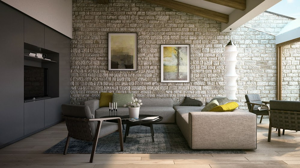 stone-themed-living-room