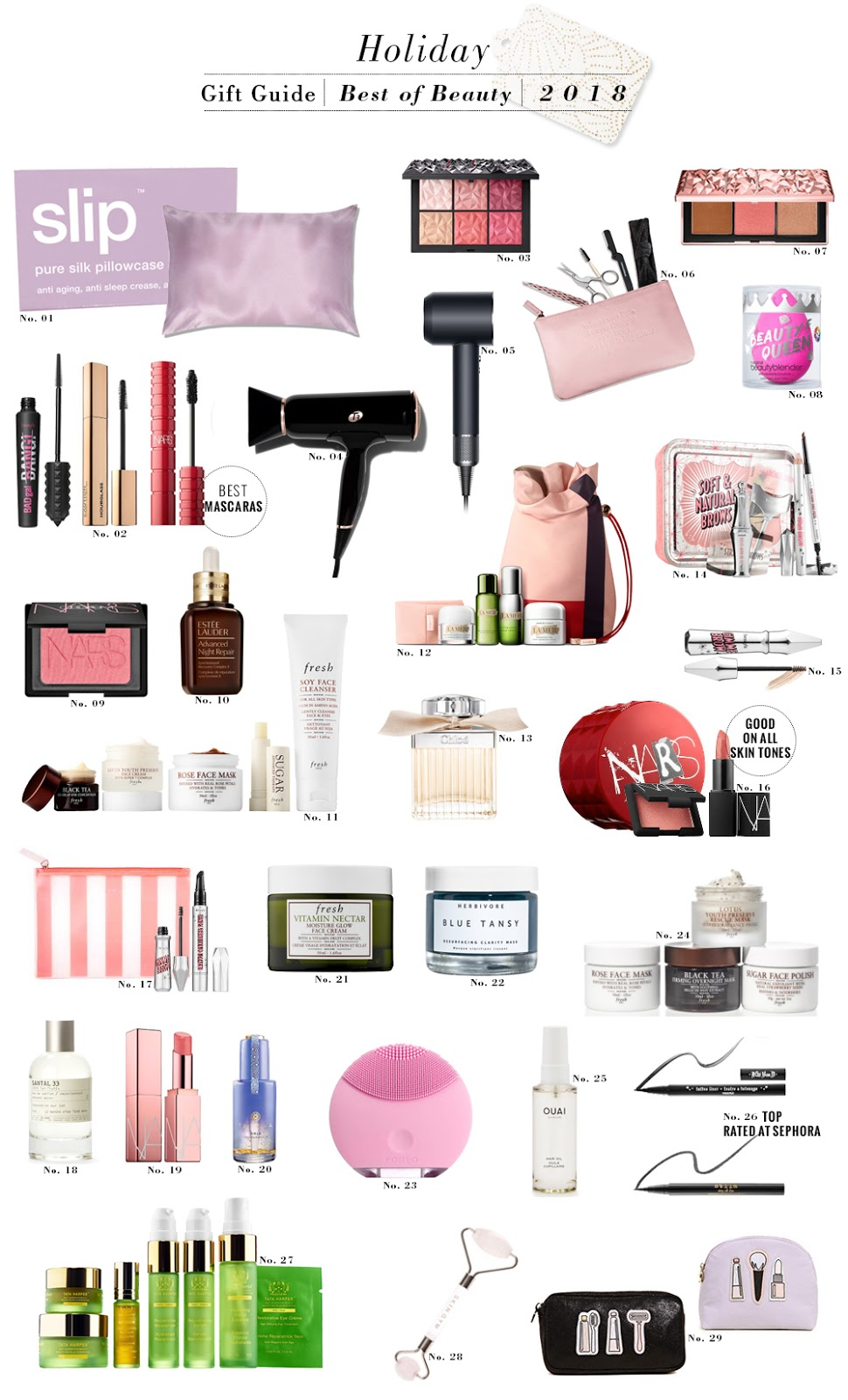 Shopping File: Holiday Gift Guide - Best of Beauty