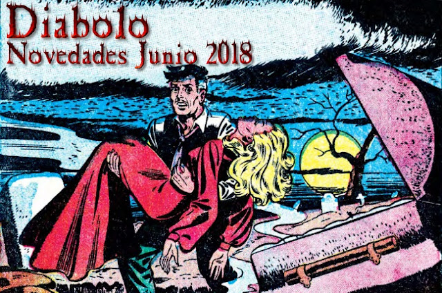 Novedades de Diábolo Ediciones para Junio 2018