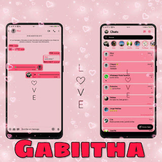 Love Theme For YOWhatsApp & Fouad WhatsApp By Gabiitha