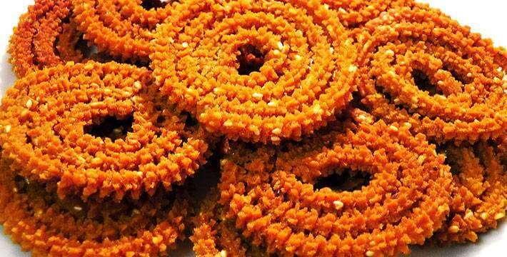 चकली- पाककला | Chakali - Recipe