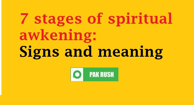 Stages of spiritual awakening: Signs, symptoms and meaning