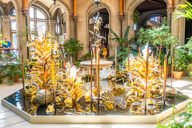 Chihuly at The Biltmore - Laguna Torcello II, 2018