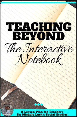 Teaching beyond the Interactive Notebook should be the goal for every middle and high school teacher. Read to help define the interactive notebook for your classroom.