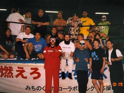 Manuel Majoli in Giappone alla Michinoku Pro Wrestling