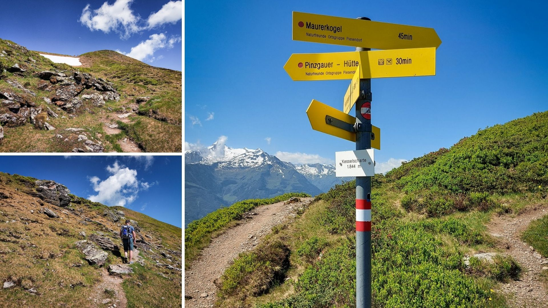 Szlak w Alpach