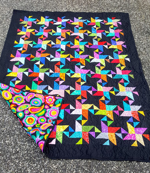 Twinkling Stars Quilt designed by Sew Yummy, The Pattern by Bonnie K. Hunter of Quilt Ville