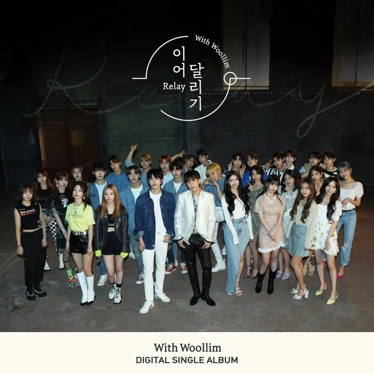 Woollim Musicians Pose Together in 'Relay' Latest Teaser
