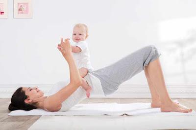 Tập thể dục sau sinh - lấy lại vóc dáng, củng cố sức khỏe mẹ và bé